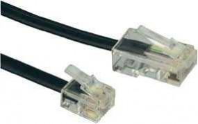 Anschlusskabel, RJ11(6p4c)-Stecker auf RJ45(8p4c)-Stecker mit EZE,