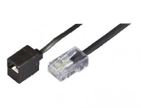 Modular-Verlängerungskabel, RJ45(8p4c)-Stecker - RJ45(8p4c)-Buchse,
