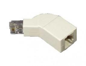 ISDN-Endwiderstand mit RJ45(8p4c)-Durchgangsbuchse