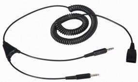 Jabra Anschlusskabel für den PC, QD-Stecker - 2 x 3,5 mm Klinkenstecker