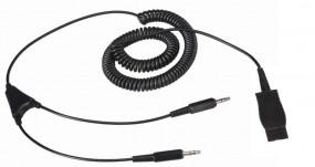 Plantronics Anschlusskabel für den PC, QD-Stecker - 2 x 3,5 mm Klinkenstecker