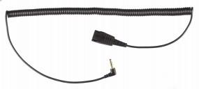 Jabra Anschlusskabel QD-Stecker - 2,5 mm Klinkenstecker, gewinkelt
