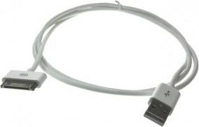 USB Sync und Ladekabel 30 pin Stecker für ipod®, iphone® und ipad®, MFI, 1,00 m