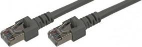 Patchkabel, CAT.6, S/STP PiMF, RJ45(8p8c)-Stecker geschirmt - RJ45(8p8c)-Stecker geschirmt,