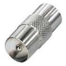 Adapter, Koaxial-Stecker auf Koaxial-Stecker