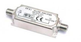 SAT-Inline Verstärker 20dB 950 - 2400 MHz