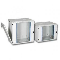 """Elektronikwandgehäuse für 19"""" Geräte 4HE, RAL7035, 500 mm tief,"""