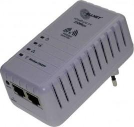 Powerline WLAN Adapter, 2. Generation 200 MBIT HomePlugAV Powerline Brigde und 300 MBIT WLAN