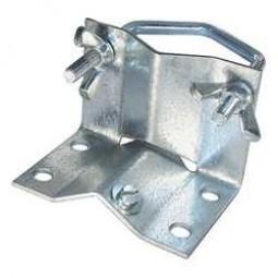 Mastfussschelle, Stahl, verzinkt, max. 60 mm